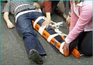 Оказание неотложной медицинской помощи при открытых переломах