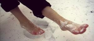 что делать при обморожении ног