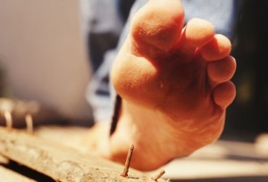 Чем опасны ранения ноги?